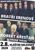 Koncert Ebenové + Křesťan