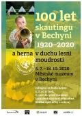 Výstava 100 let skautingu v Bechyni a herna v duchu lesní moudrosti
