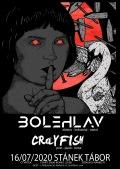16.7.2020 Stánek Tábor - Bolehlav + CRaYFISH
