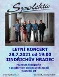 Spolektiv letní koncert v Jindřichově Hradci