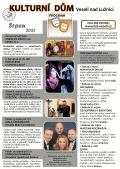 Program Kulturního domu Veselí nad Lužnicí - srpen 2021