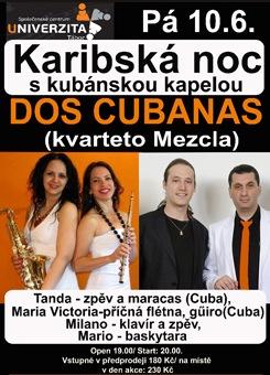 Karibská noc s kubánskou kapelou