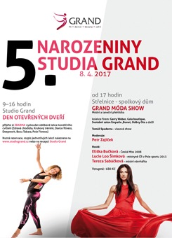 5.narozeniny Studia Grand