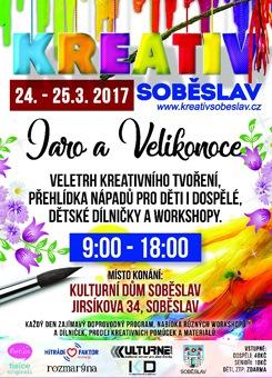Kreativ Soběslav - jarní